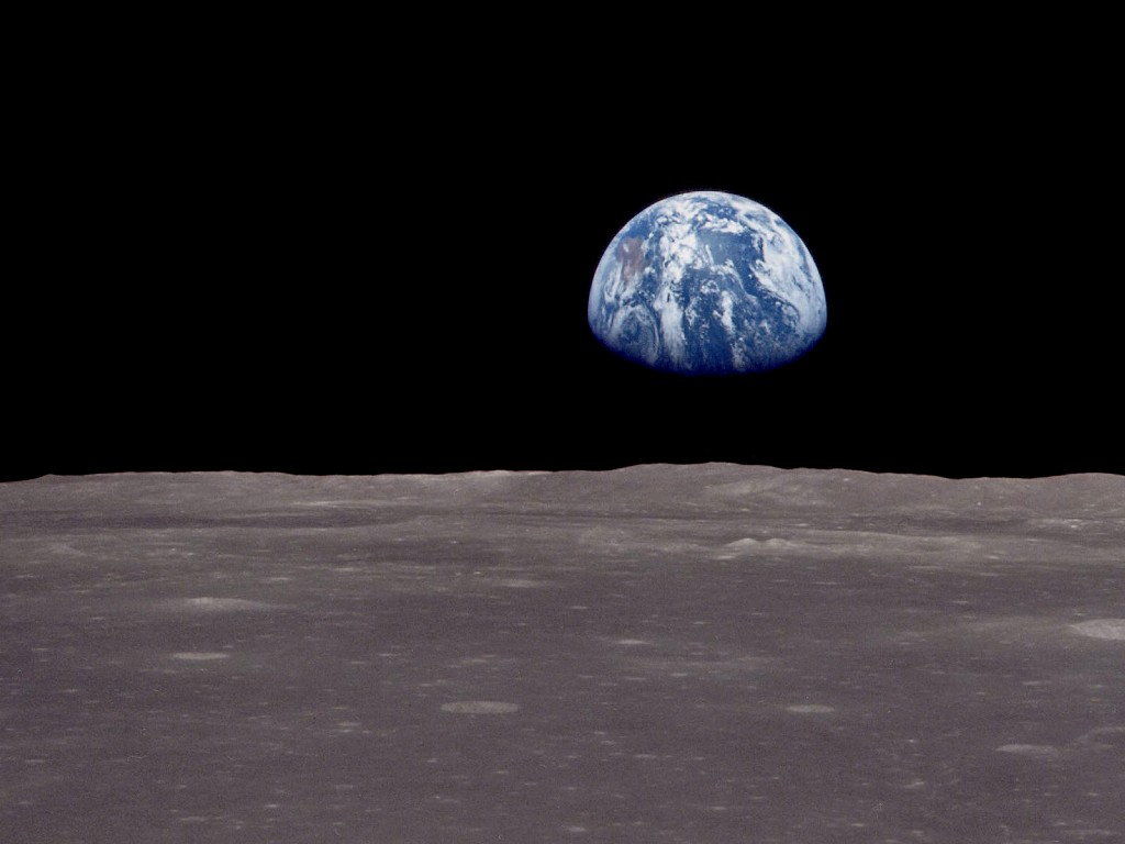 Earth from the Moon: Photos and Wallpapers | Earth Blog